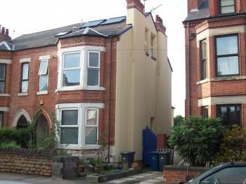 victorian external insulation
